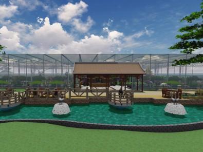 生态餐厅温室